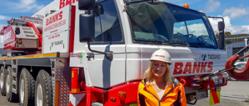 Rebecca Banks – Crane Operator finds her place and continues family legacy